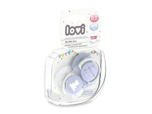 LOVI Smoczki Mini Love 0-2m 22/847 Blue