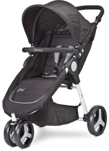 Caretero Wózek Spacerowy Frii Jogger Black