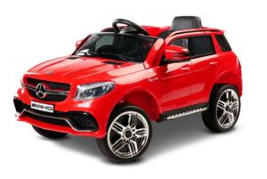 Toyz by Caretero Samochód Na Akumulator Mercedes SUV GLE 63 S RED