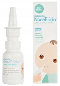 FRIDABABY NoseFrida Spray Do Nosa Roztwór Soli Morskiej 20 ml