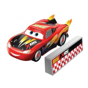 CARS Auto XRS Rocket Racing Lightning McQueen GKB88 GKB87