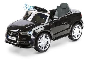Toyz by Caretero Audi A3 Pojazd Na Akumulator Black